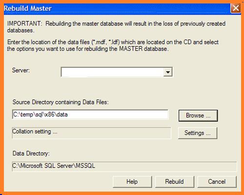 Repair SQL Server Database Manually.